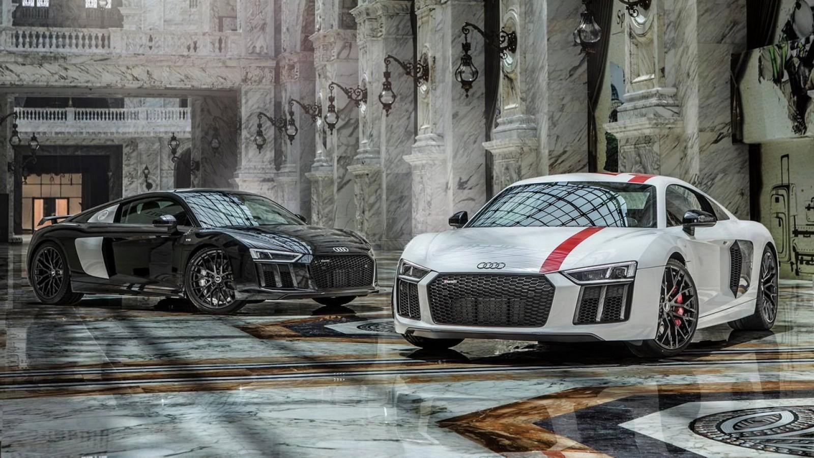 (video) Două maşini Audi R8 au participat la o sesiune foto în cel mai scump mall din lume