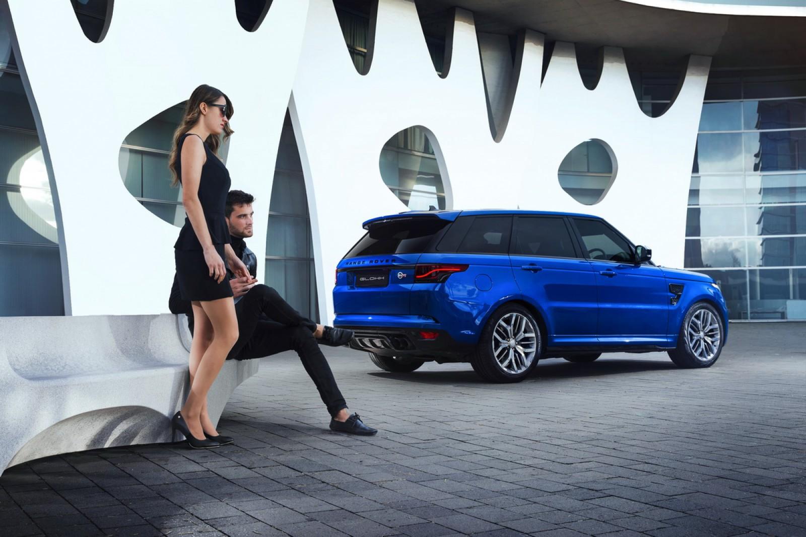 (video) Două stopuri frumoase pentru maşini Range Rover Sport, produse din 2005 şi până în prezent