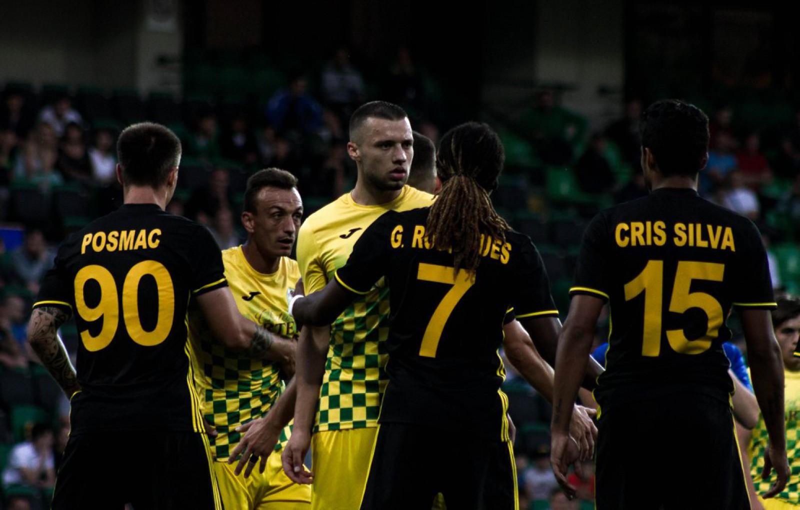 (video) FC Zimbru 0-1 FC Sheriff: Alhaji Kamara a înscris golul victoriei pentru formația tiraspoleană