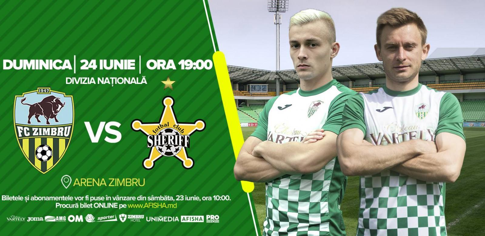 (video) FC Zimbru este gata de eternul derby cu Sheriff Tiraspol! Partida se va juca mâine la Chișinău