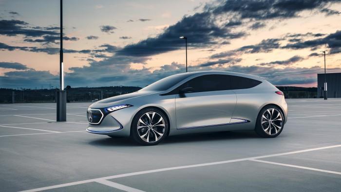 (video) Frankfurt 2017: Premieră mondială – Mercedes-Benz EQA Concept