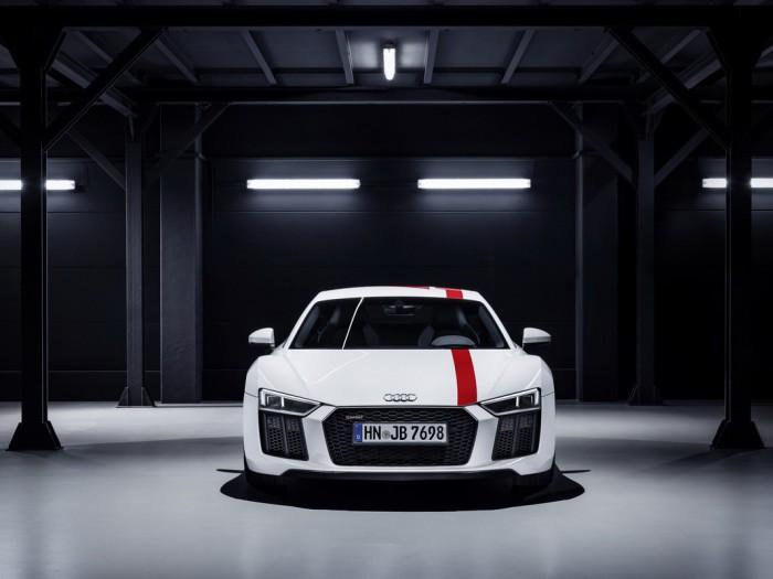 (video) Frankfurt 2017: Premieră mondială – Noul drift car Audi R8 V10 RWS