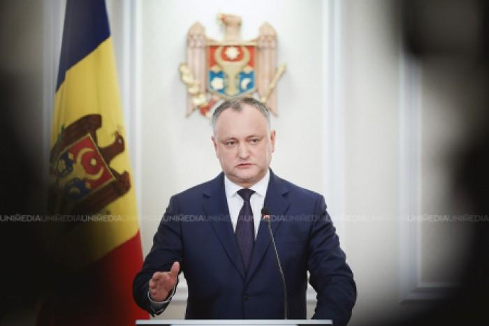 """(video) Igor Dodon a început campania electorală? Președintele propune mai multe inițiative legislative: """"Cerem anularea majorării vârstei de pensionare"""""""