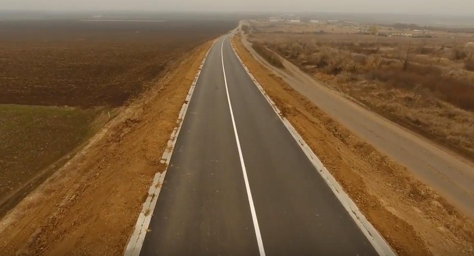(video) Centura buclucașă a Ungheniului văzută de la înălțimea unui zbor de pasăre