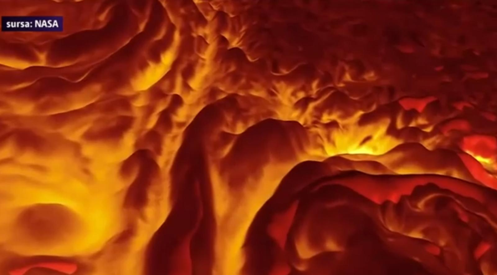 (video) Imagini spectaculoase: Tur în infraroşu la Polul Nord al planetei Jupiter