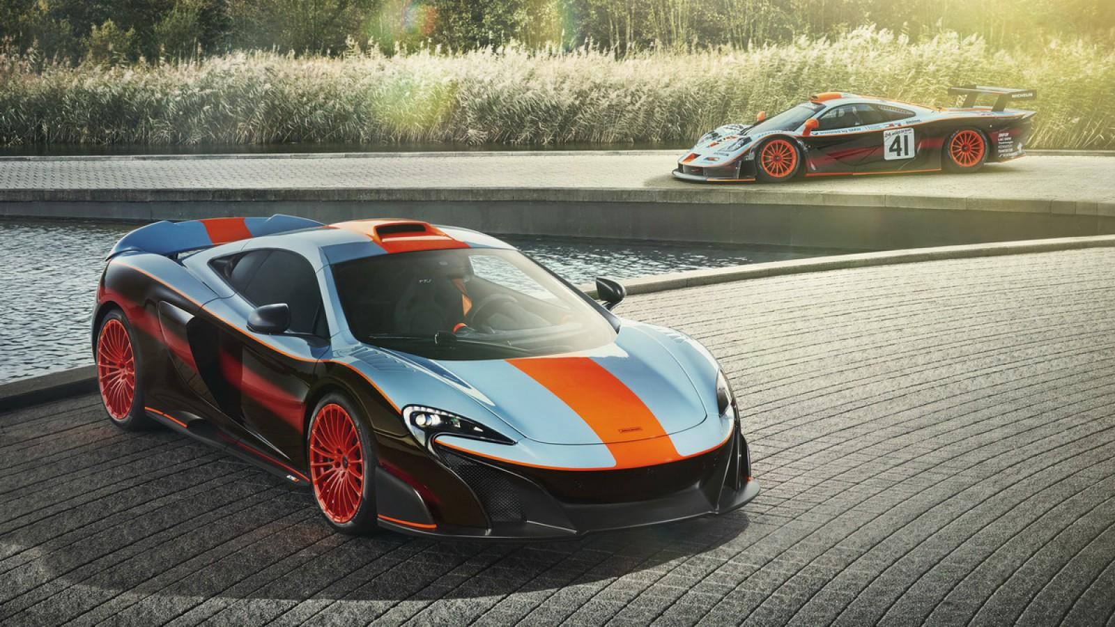 (video) MSO a făcut la comandă un unic McLaren 675LT în stilul lui F1 GTR Longtail