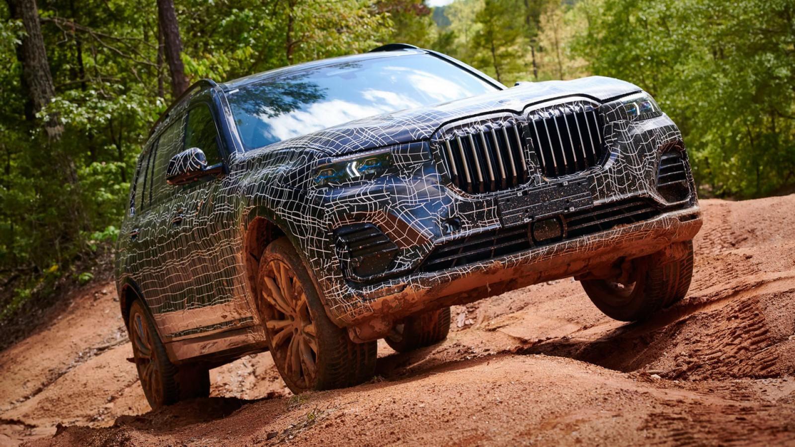 (video) Noul BMW X7, în variantă pre-serie, a fost testat de jurnalişti auto. Detalii despre cel mai mare SUV al mărcii