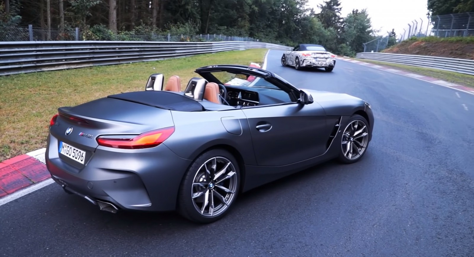 (video) Noul BMW Z4 M40i este practic la fel de rapid pe Nurburgring precum un M5 F10