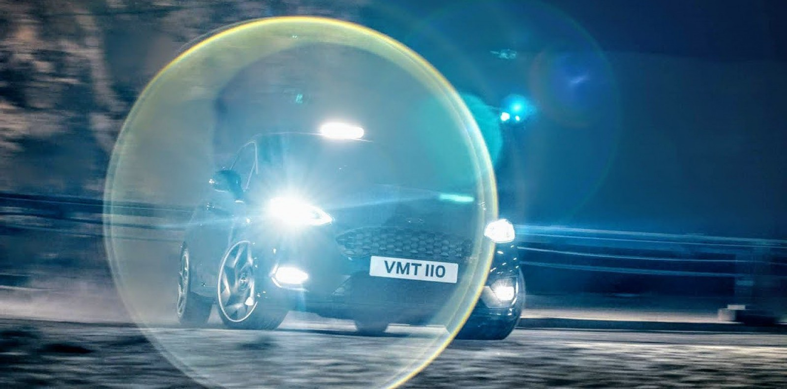 """(video) Noul Ford Fiesta ST, condus pe o """"șosea"""" de care nu ați auzit niciodată. Se află la 400 de metri sub pământ!"""