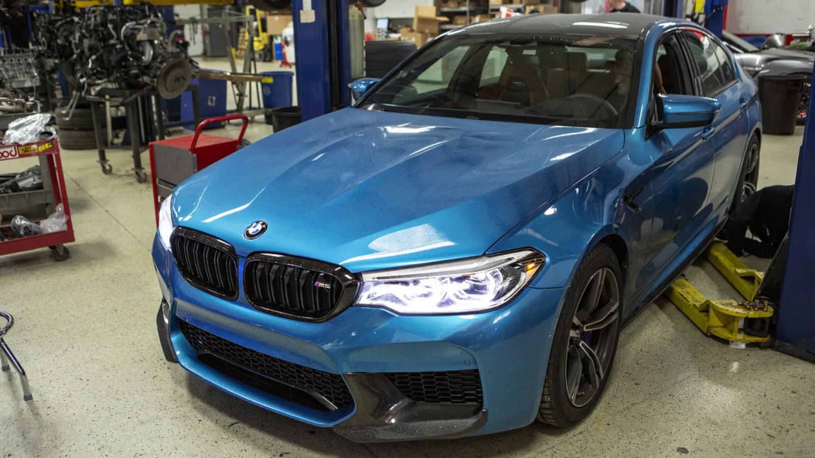 (video) Noul M5 este mai puternic decât a anunţat BMW! Descoperirea făcută la un stand dinamometric