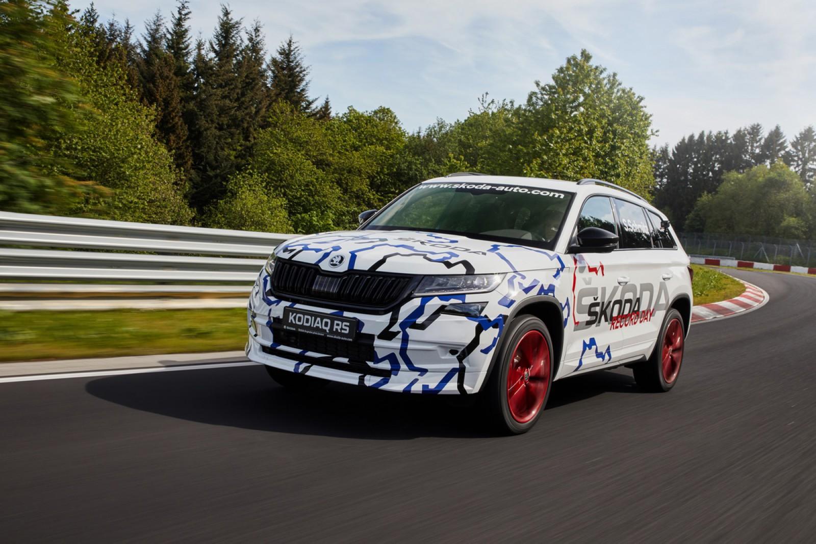 (video) Noul Skoda Kodiaq RS – deocamdată cel mai rapid SUV cu şapte locuri de pe Nurburgring