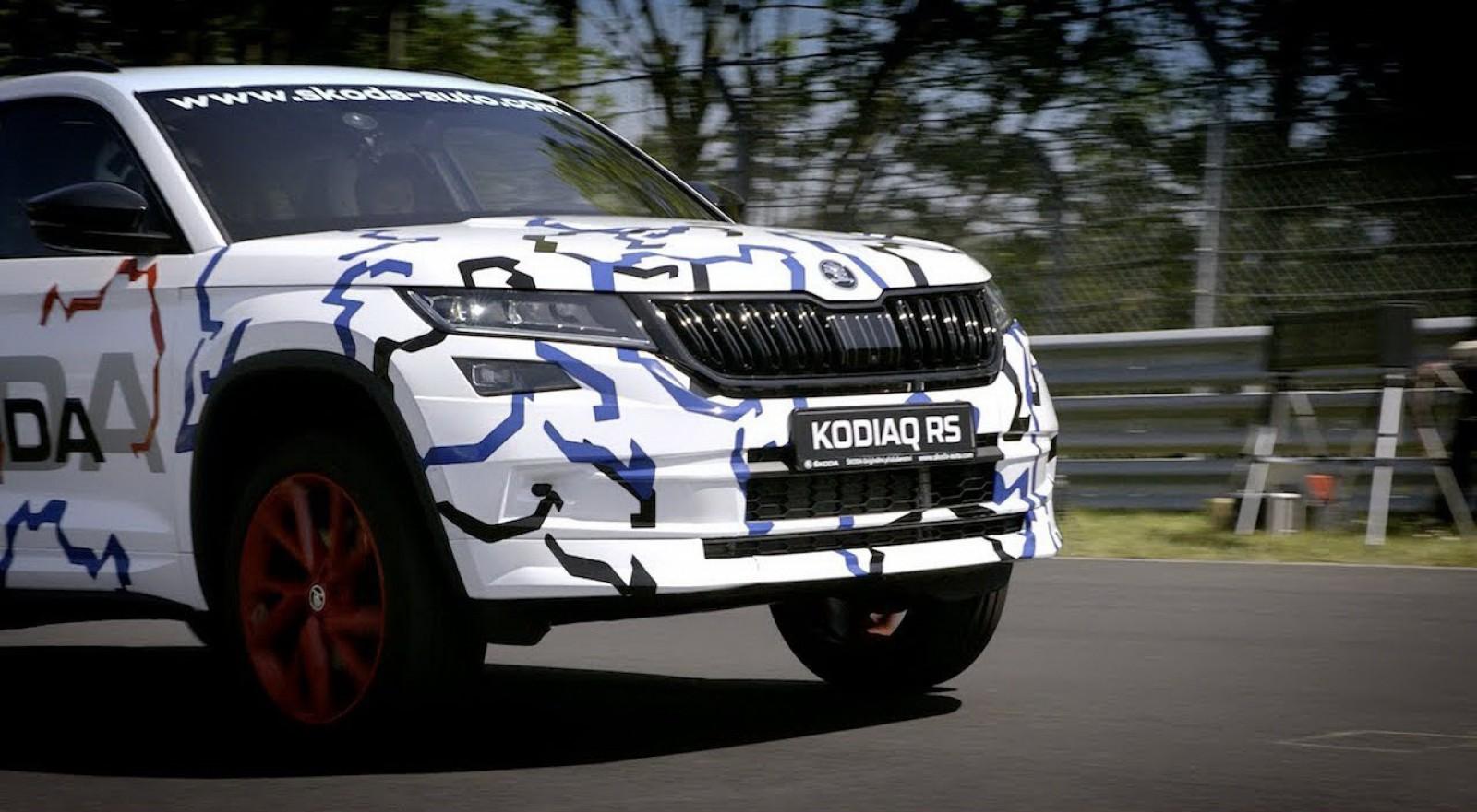(video) Noul Skoda Kodiaq RS a stabilit un record de timp pe Nurburgring? Vom afla la 14 iunie