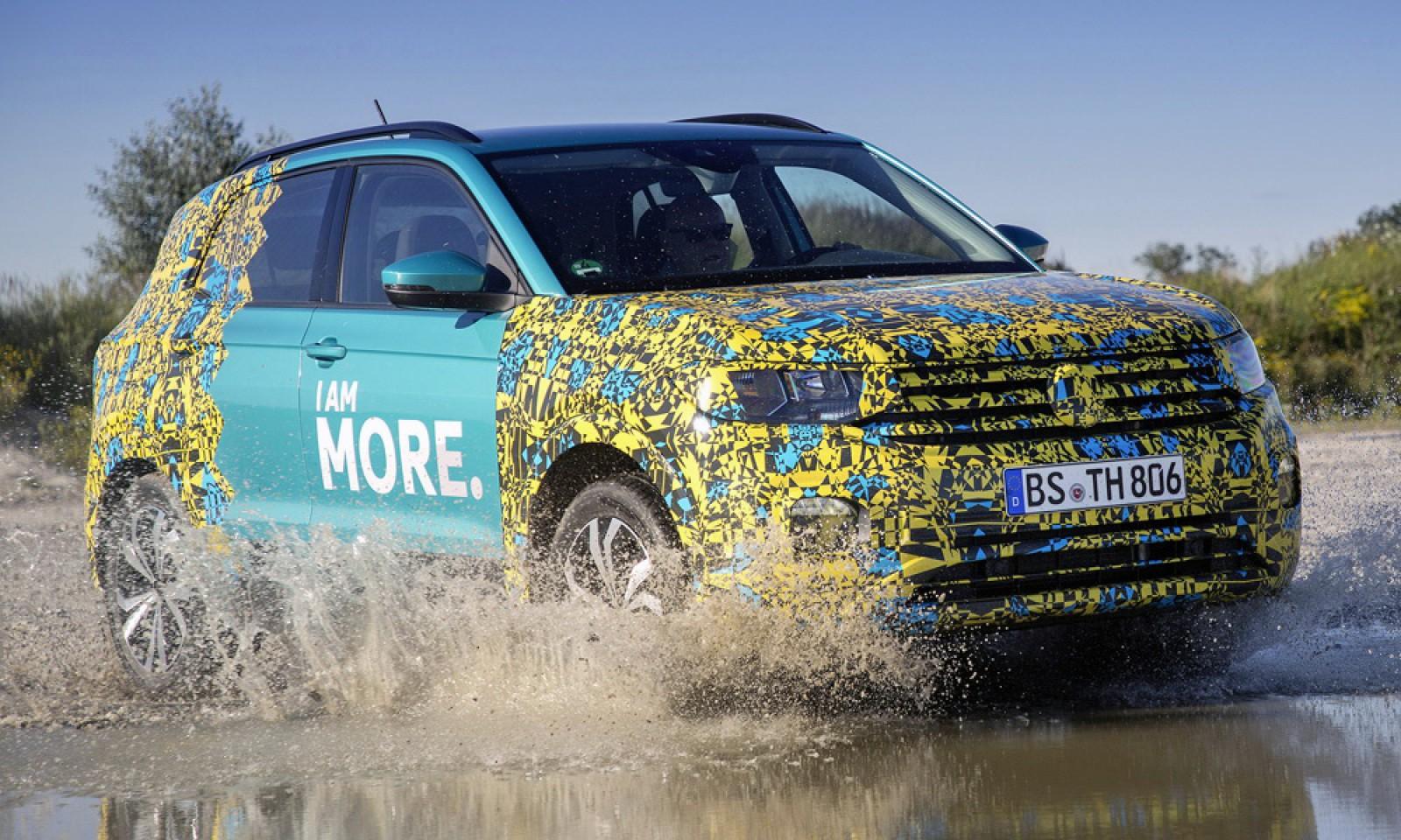 (video) Noul VW T-Cross. Primele detalii despre crossoverul care apare la toamnă