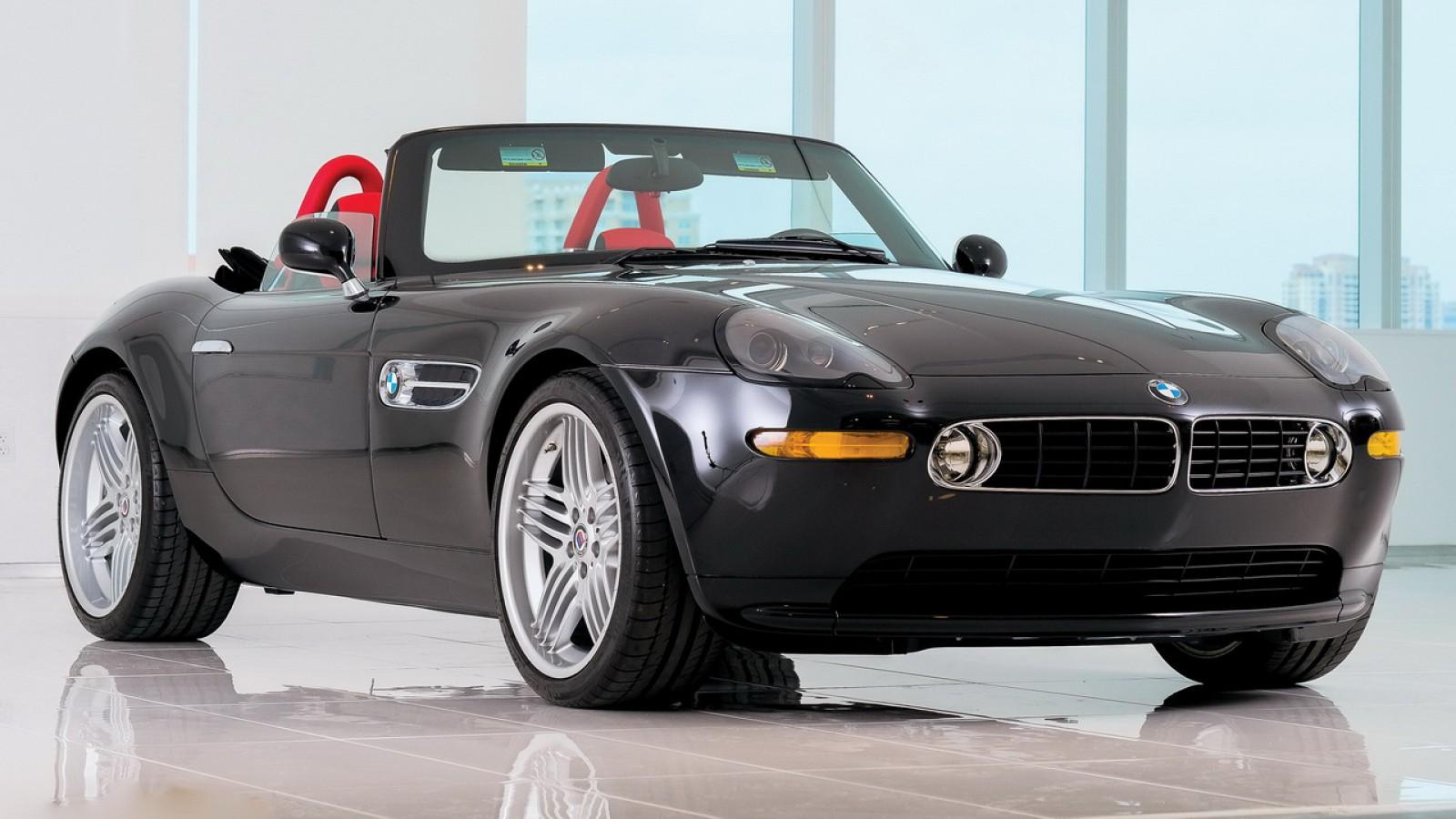 (video) Oportunitate rară de a cumpăra unul! Un BMW Alpina V8 Roadster, scos la licitaţie
