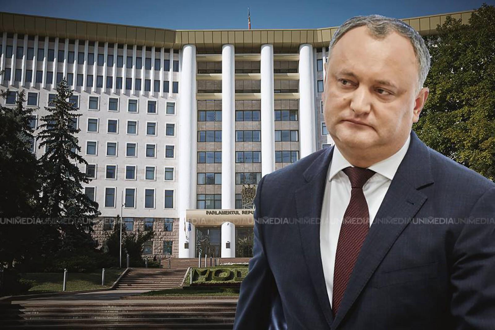 (video) Parlamentul a sesizat Curtea Constituțională, după ce Igor Dodon a refuzat desemnarea candidaților la funcțiile de miniștri