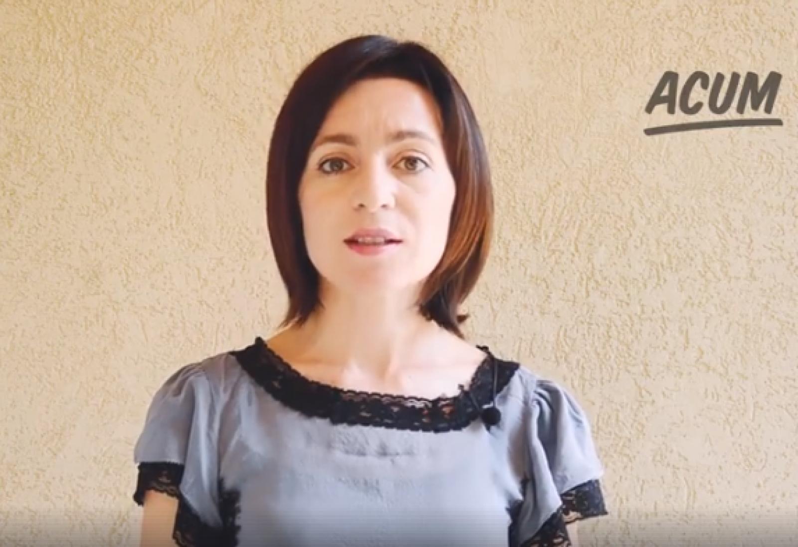 (video) Partidul Maiei Sandu solicită sprijin financiar din partea cetățenilor pentru crearea celulelor de rezistență în toată țara
