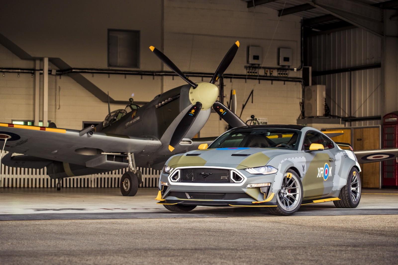 (video) Premieră la Goodwood: Eagle Squadron Mustang GT