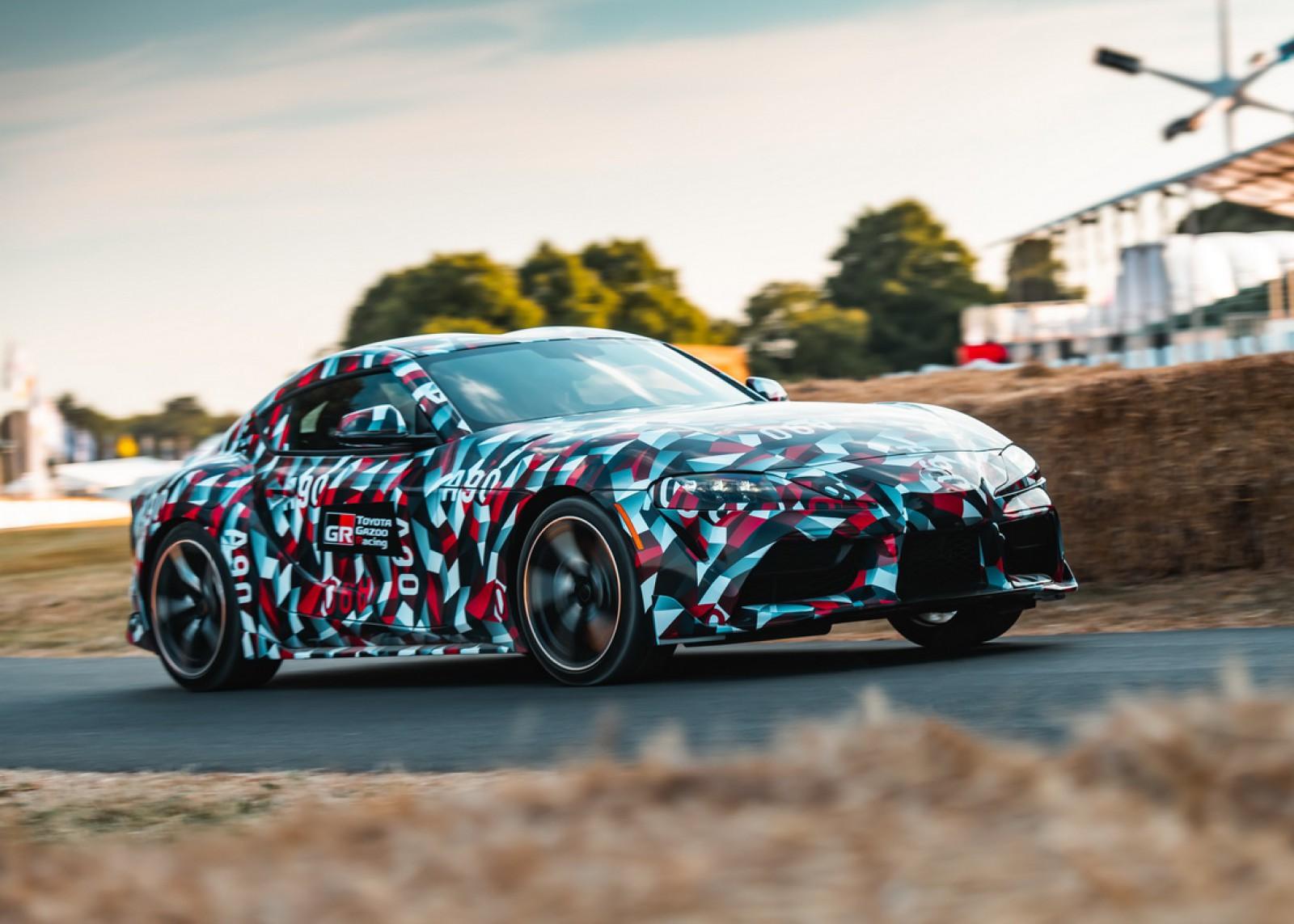 (video) Premieră la Goodwood: Noua Toyota Supra şi-a făcut auzit motorul turbo