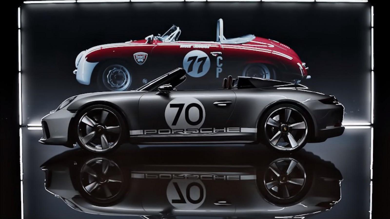 (video) Premieră la Porsche acasă – modelul aniversar 911 Speedster Concept