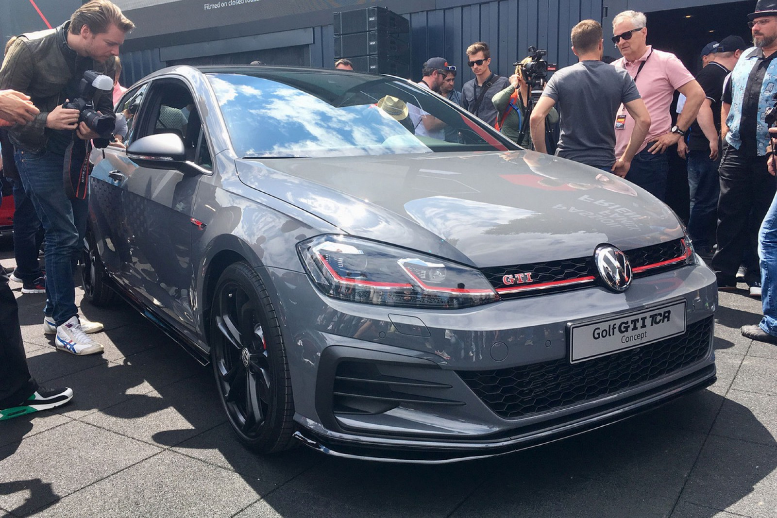 (video) Premieră la Worthersee: Noul VW Golf GTI TCR Concept