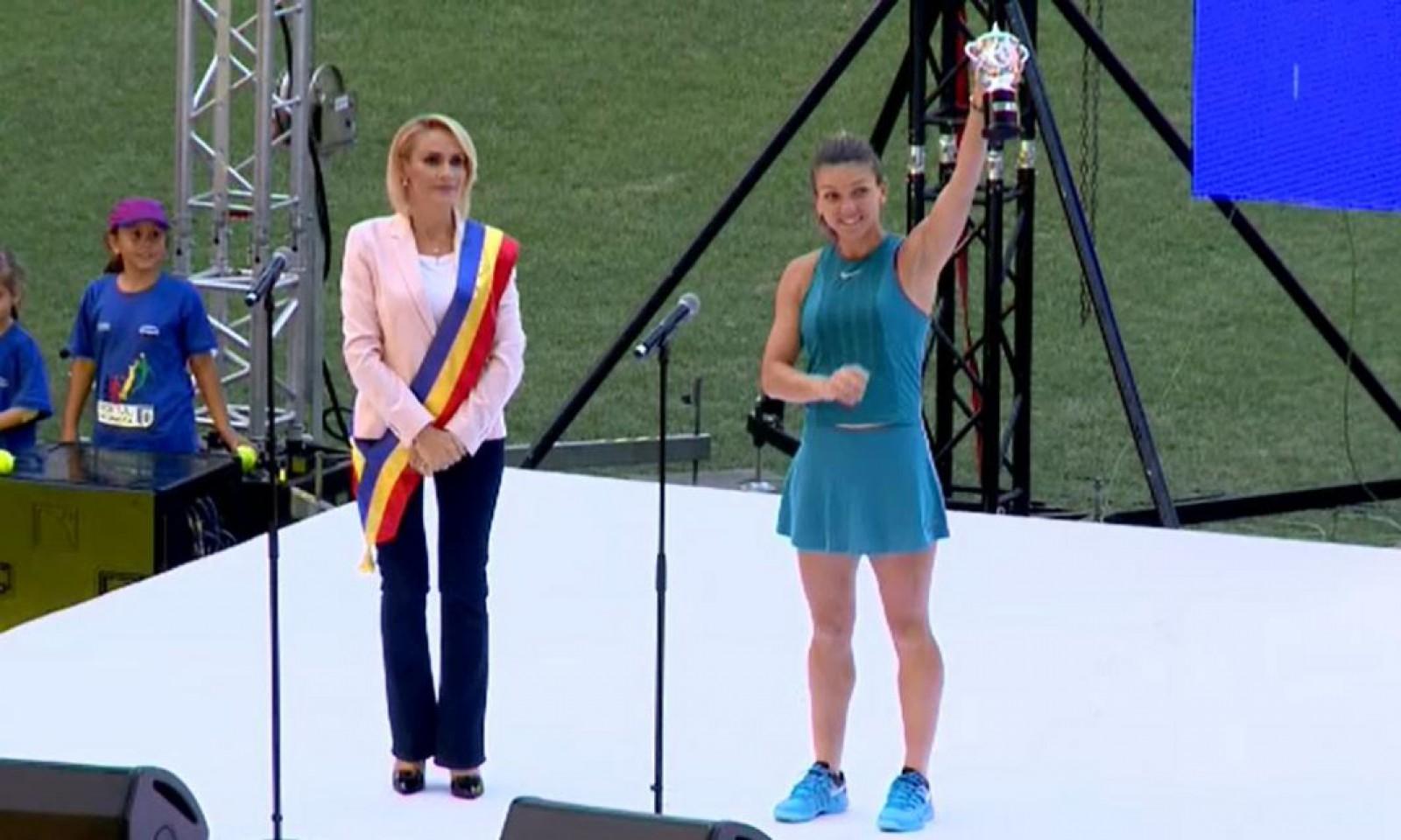 (video) Moment jenant pentru Primarul Bucureștiului. Gabriela Firea a fost huiuduită copios după ce apărut pe Arena Națională cu Simona Halep