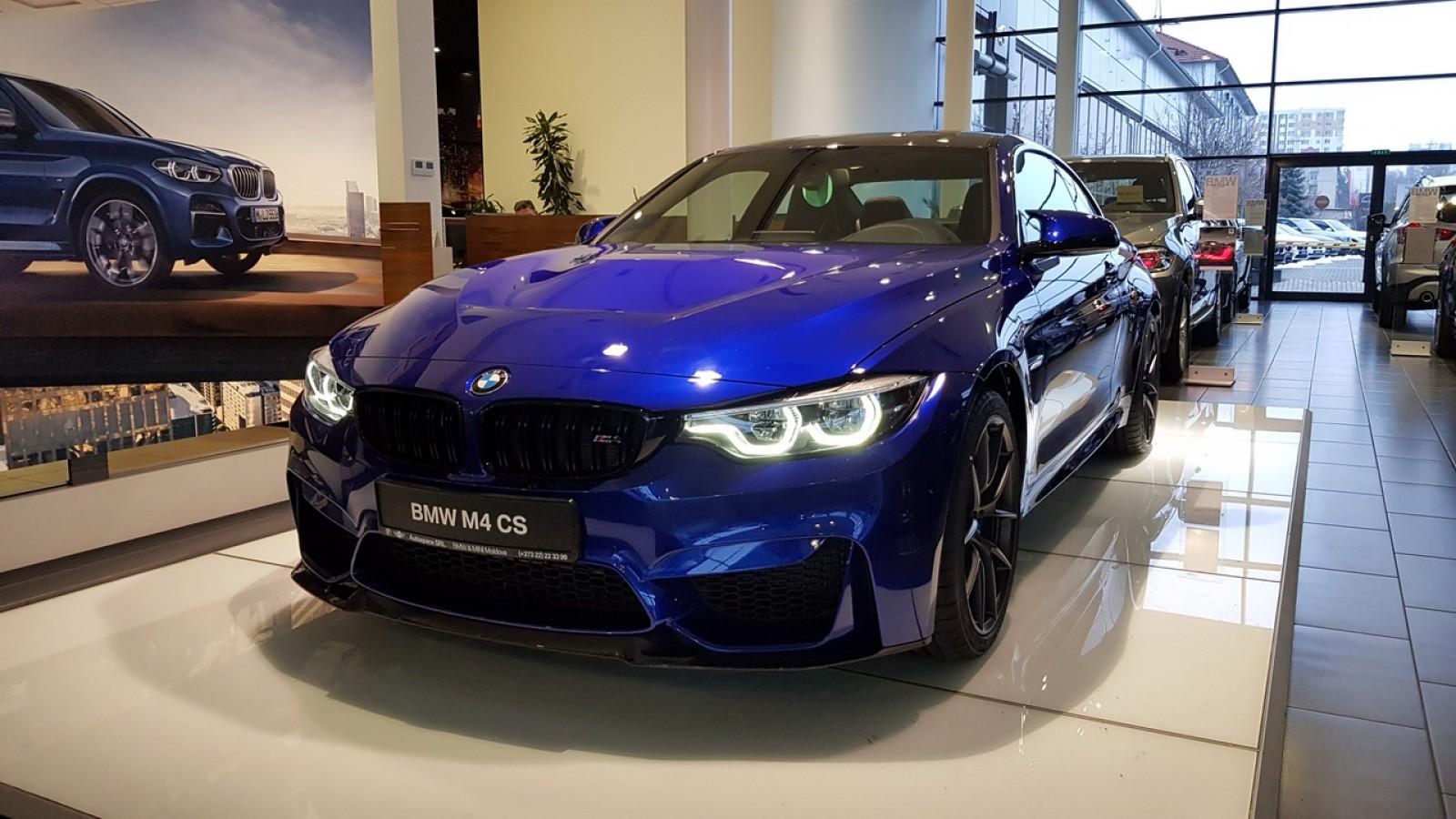 (video) Primul BMW M4 CS a ajuns în Moldova, se vinde, şi doar stopurile îi costă cât o altă maşină