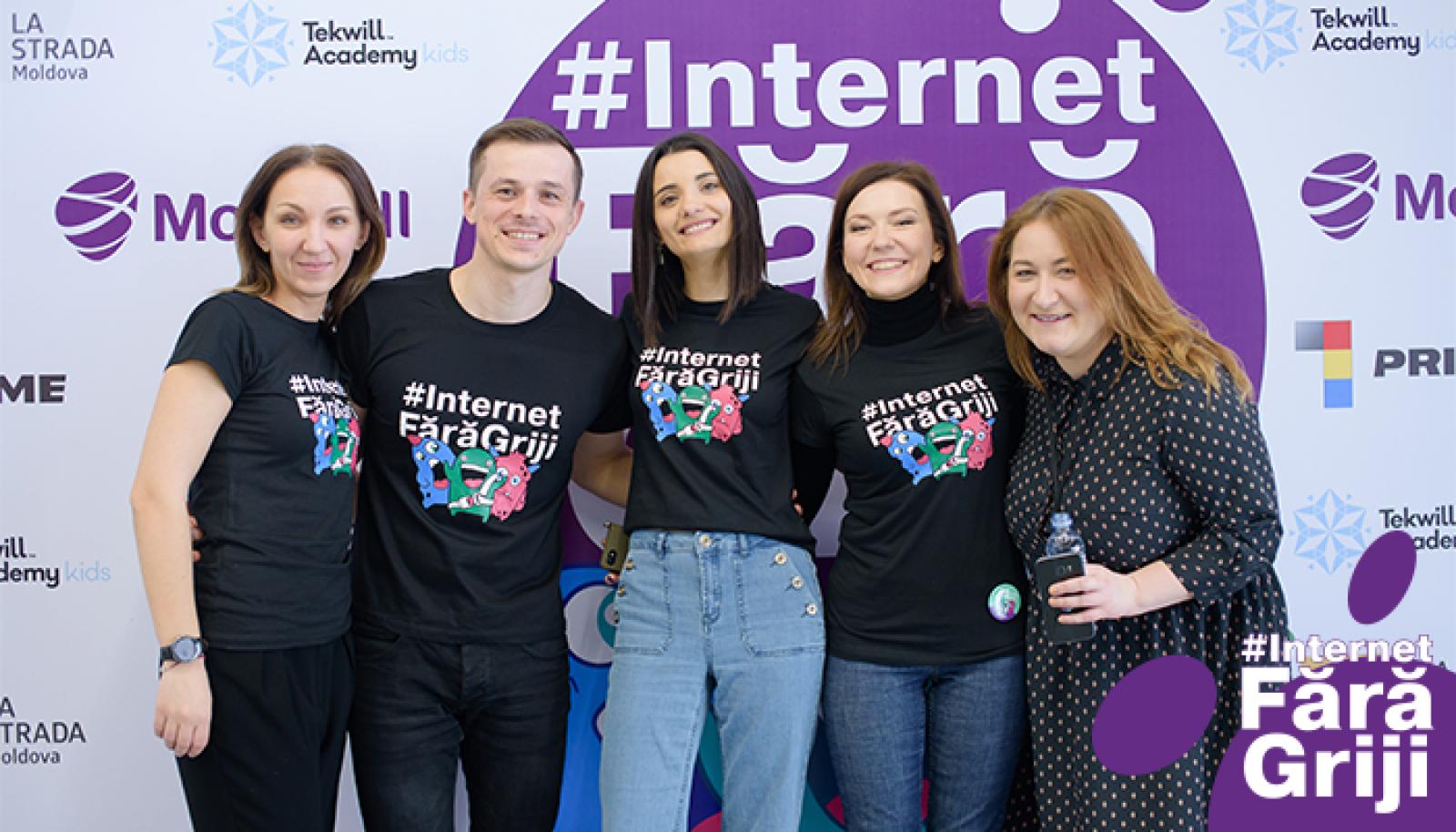 (video) Proiectul #InternetFărăGriji a fost lansat cu succes