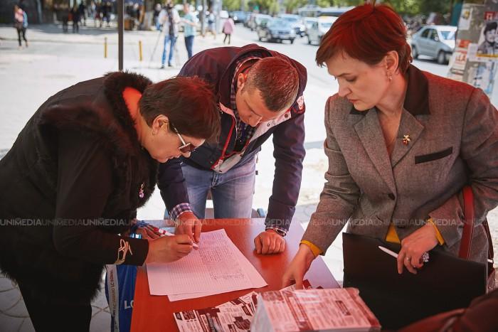 (video) PSRM își propune să adune un milion de semnături până pe 2 februarie 2018, pentru susținerea trecerii la republică prezidențială