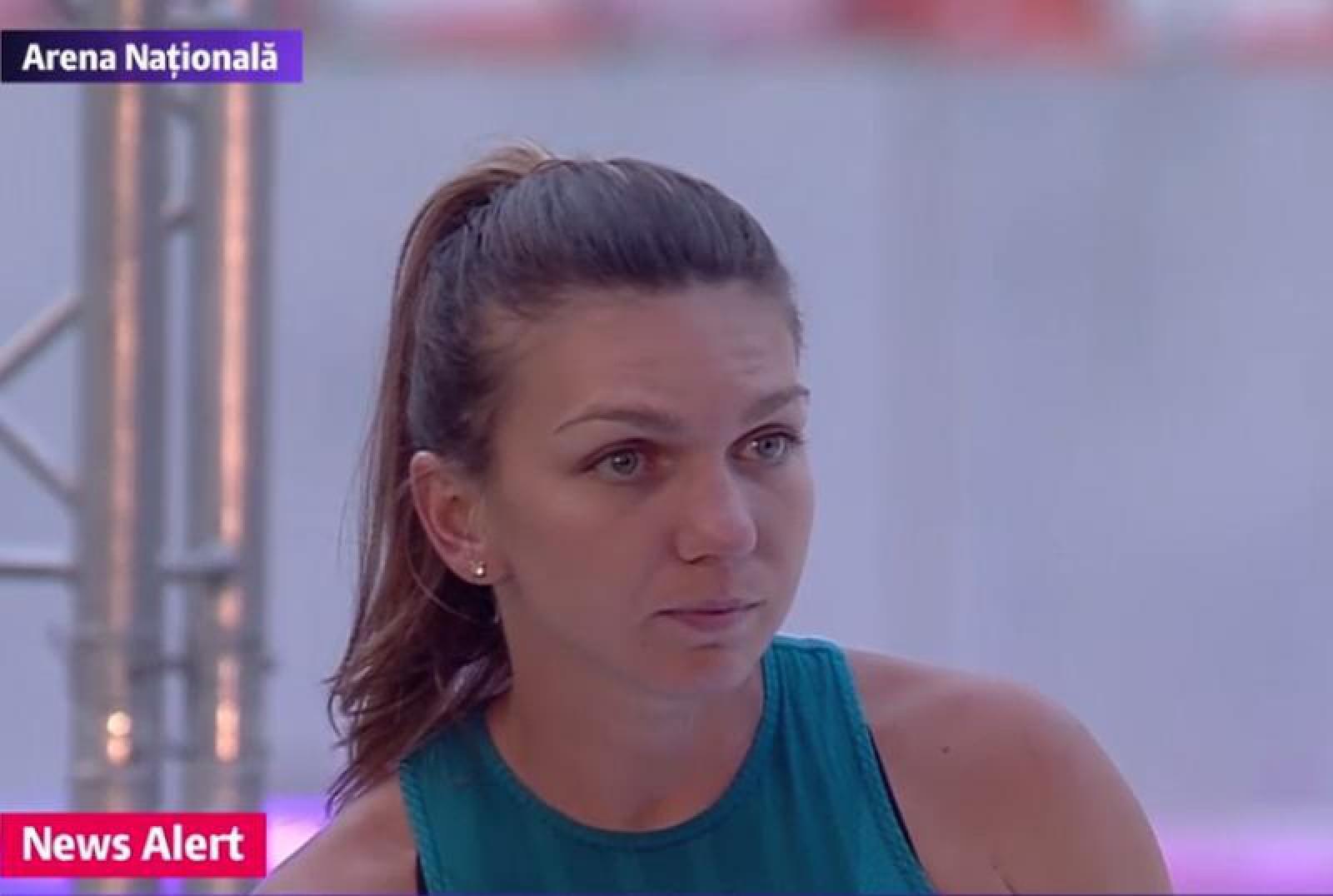 (video) Simona Halep a fost surprinsă de reacţia oamenilor la începutul discursului primarului general Gabriela Firea