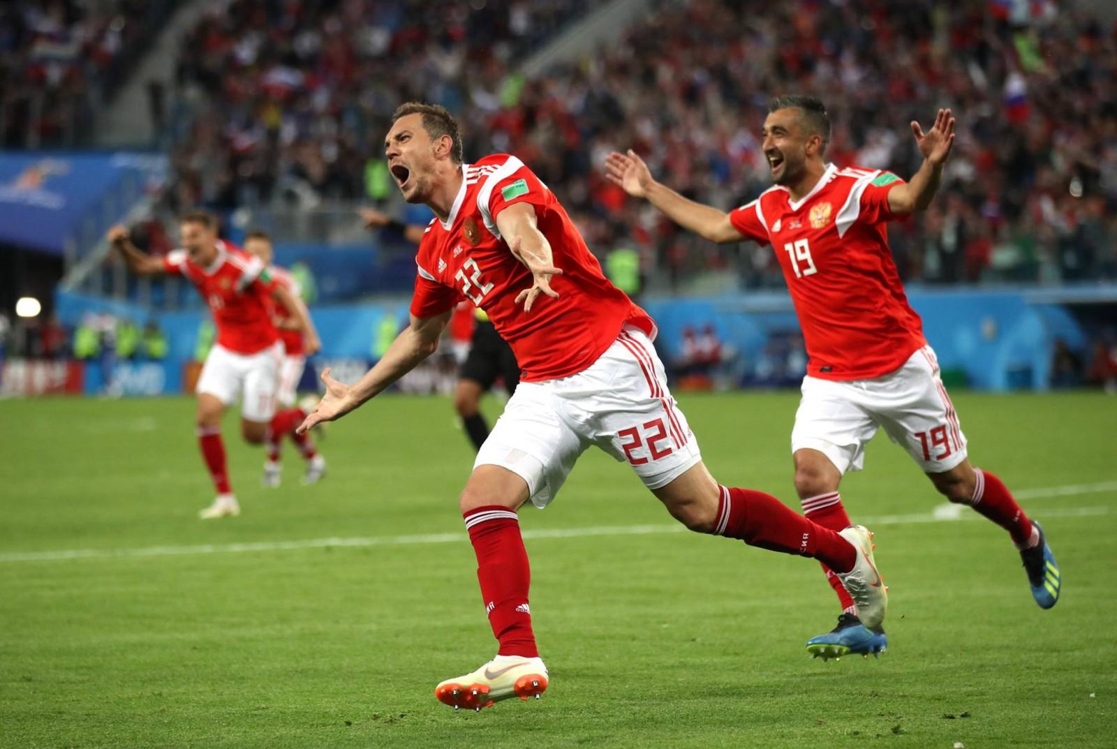 (video) Rusia 3-1 Egipt: Gazda Campionatului Mondial a obținut a doua victorie de la acest turneu final și este la un pas de play-off