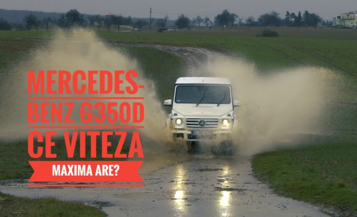 (video) Test Drive: Ce viteză maximă are? Am accelerat un Mercedes-Benz G350d pe o autostradă din Germania