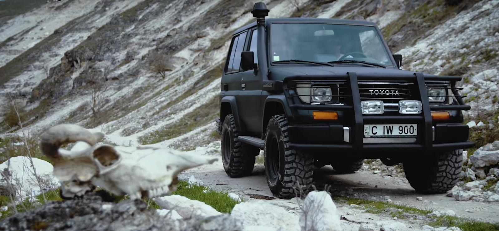 (video) Test Drive: Toyota Land Cruiser 70