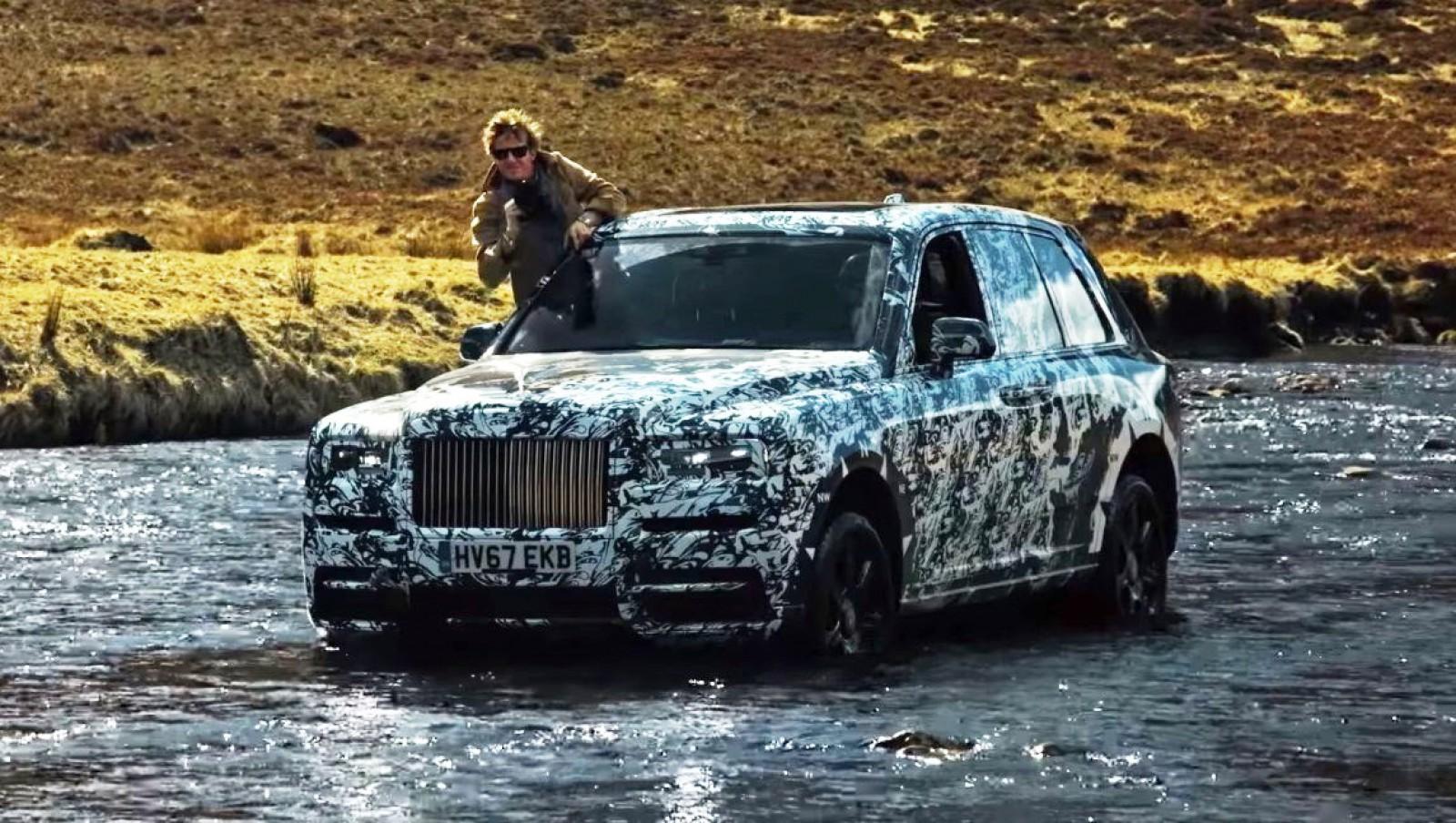 (video) Va avea inserţii din agat şi va fi capabil de off-road. Noul Rolls-Royce Cullinan şi-a încheiat călătoria în Scoţia