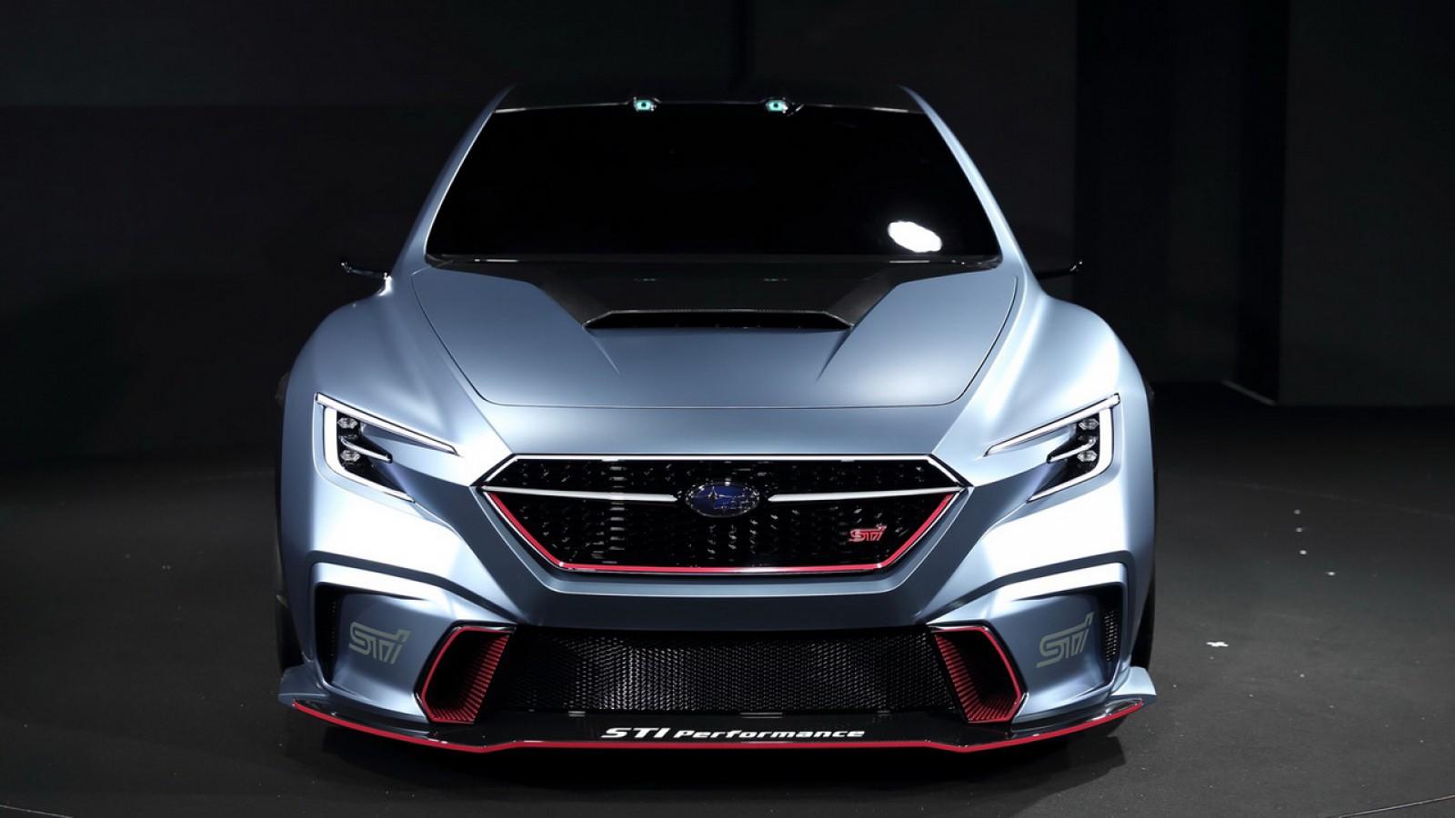 (video) Viitorul WRX STI? Subaru a arătat noul VIZIV Performance STI Concept