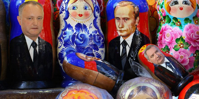 Ziarul de Gardă. Geografia lui Igor Dodon: Izolaţi lângă Putin