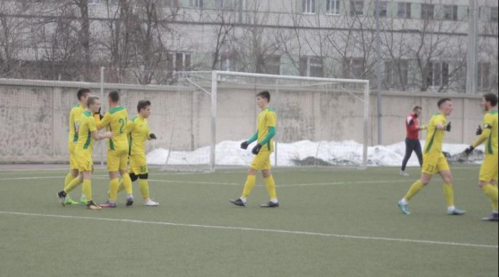 Zimbru Chișinău a învins Speranța Nisporeni în ce de-al doilea meci de pregătire a anului pentru galben-verzi