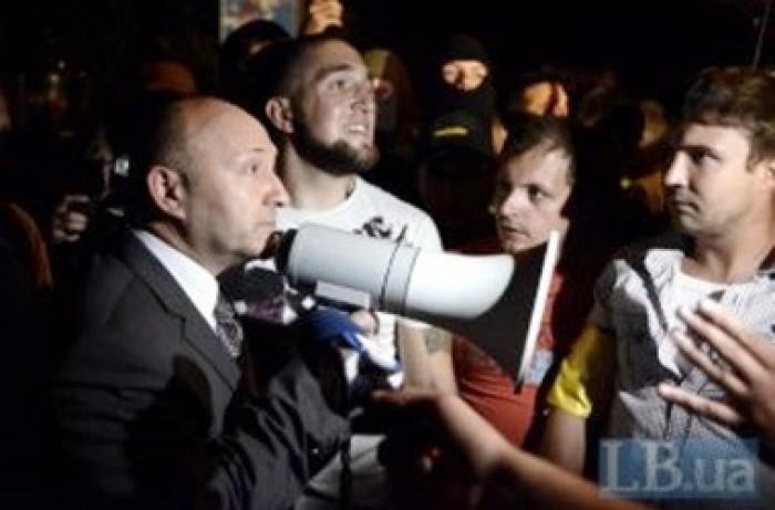 Șeful poliției din Kiev și-a cerut demisia