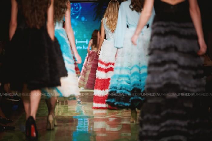 (galerie foto) Ținute vaporoase și multă culoare la Moldova Fashion Days