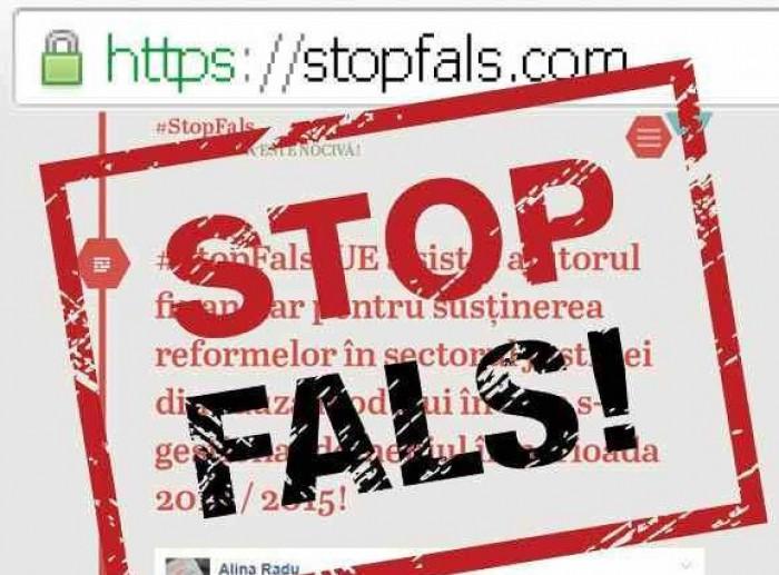 Atenţie: Se încearcă deturnarea campaniei STOP FALS!