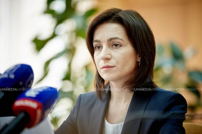 CEC i-a cerut Maiei Sandu să prezinte raportul financiar complet cu referire la cheltuielile electorale