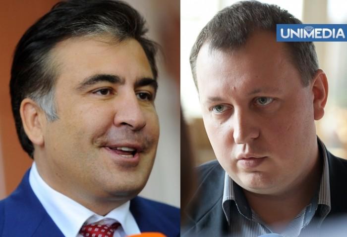 Comuniștii, deranjați de vizita lui Saakașvili la Chișinău