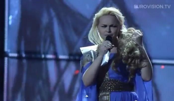 (video) Cristina Scarlat nu a reușit să califice Moldova în finala concursului Eurovision