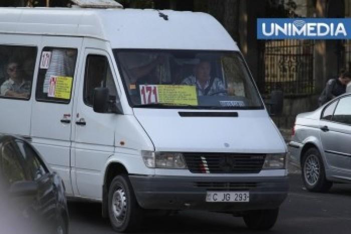 De mâine, fără microbuze pe străzile centrale ale Capitalei
