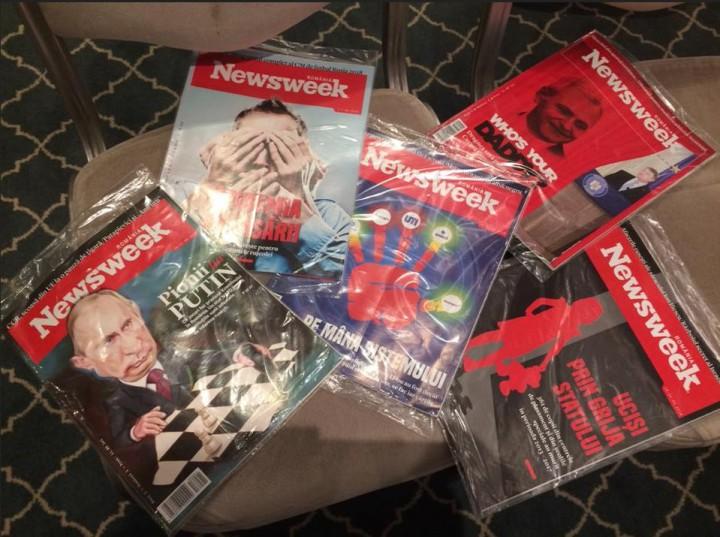 """Directorul """"Newsweek"""" România, oprit de vameșii moldoveni să treacă granița cu 250 de exemplare ale revistei"""