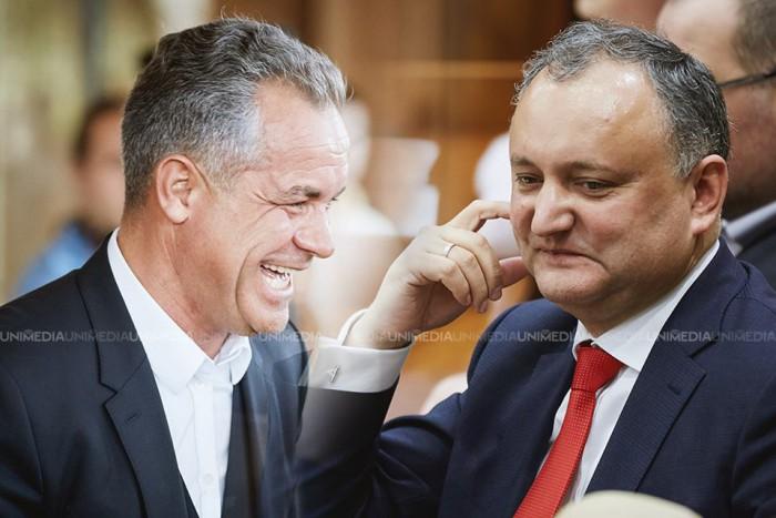 """Dodon către Plahotniuc: """"Voi cere boicotul alegerilor parlamentare din partea tuturor partidelor"""""""