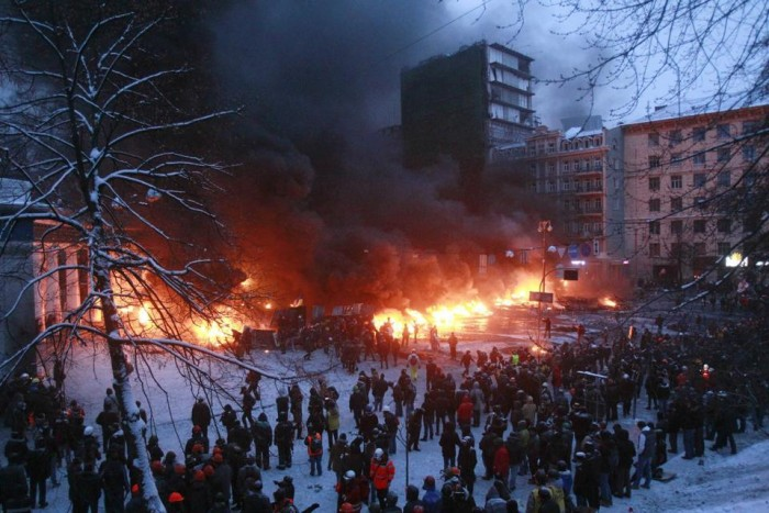 Pagube la Kiev: 14 milioane de hrivne