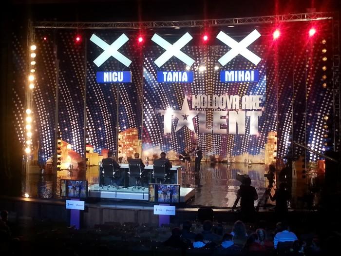 """(foto) A început ultima rundă de audiții la """"Moldova are Talent"""""""