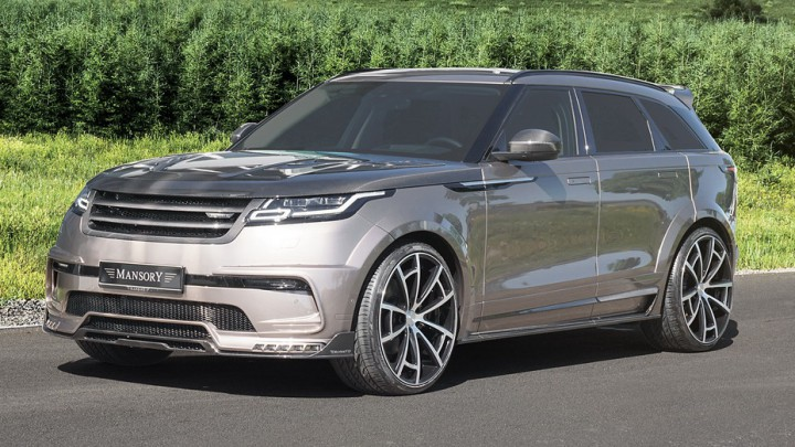 (foto) Oferta de vară a atelierului Mansory pentru proprietarii de Range Rover Velar