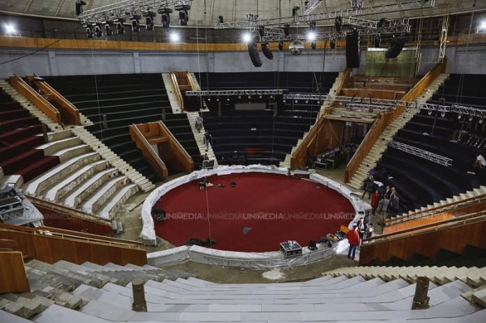 (galerie foto) Cum arată acum Circul de Stat după demararea proiectului #LumineazăCircul