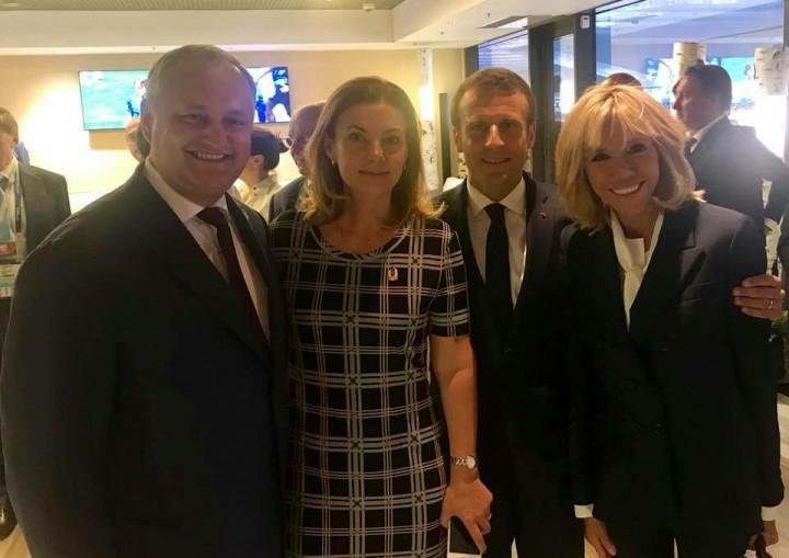 Igor Dodon a felicitat Franța cu ocazia victoriei în Campionatul Mondial de Fotbal: Mesajul președintelui scris în trei limbi